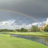 A rainbow  over Biltmore Golf Course