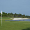 A view of green #9 at McArthur Golf Club