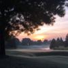 The sunrise over the 12th hole from Golden Bear Club at Keene's Pointe