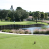 View of the 4th green from the Seven Bridges at Springtree Golf Club