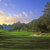 Morning view of a green at Ocala National Golf Club