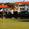 A view from a green at Grand Harbor Golf & Beach Club