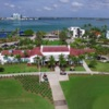 View of the clubhouse at Normandy Shores Golf Course