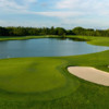 A view of hole #8 at Golden Palm Course from Trump National Doral Miami