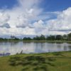 View from the par-3 7th hole at Kissimmee Golf Club