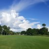 View from the 539 yards par-5 #9 at Kissimmee Golf Club
