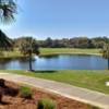 A view over the water from Club at Hidden Creek