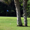 A view of a green at Great Outdoors RV & Golf Resort