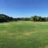 A view of the driving range at Timber Pines