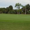 A view of a green at Martin County Golf Course