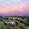 Aerial sunrize from Naples Beach Hotel & Golf Club - Resort