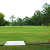 A view of the driving range at Quail Heights Country Club