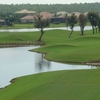 A view from tee #1 at Eagle Lakes Golf Club