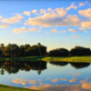 A view over the water from Live Oak RV Golf Course.