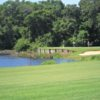 A view of hole #6 at Bayou from A. C. Read Golf Course.