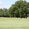A view of a green at Jake Gaither Municipal Golf Course.
