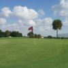 A view of the 2nd hole at Boca Dunes Golf & Country Club