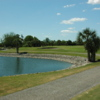 A view of a green at Myakka Pines Golf Club.