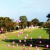 A view of a fairway at High Point Golf Club.