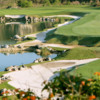A view of the 15th hole at Quarry Course from Black Diamond Ranch Golf & Country Club