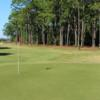 A view of green #1 at Gator Lakes Golf Course.