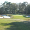 The 18-th green at Pablo Creek Club
