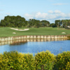 A view over the water from Country Club of Florida.