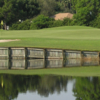 A view of a hole at The Groves Golf Course.