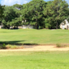 A sunny day view from a tee at Shalimar Pointe Golf and Country Club.