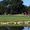 A view of a hole at Daytona Beach Golf Club.