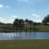 A view over the water from Palmetto at The Villages Executive Golf Trail (Kendra Ward)