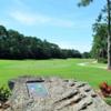 A view of tee #2 at Indigo Lakes Golf Club.