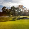 A sunny day day view of a green at The Fox Club.
