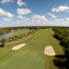 Aerial view of the 4th on the Red nine at Myakka Pines GC