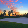 A sunset view of hole #3 at Country Club of Naples.