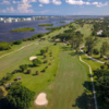 Aerial view of the Lake Worth Beach Golf Course