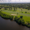 Aerial view of the 10th hole at Lake Worth Beach Golf Club