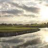 A view over the water of a hole at Palm Beach Polo & Country Club.