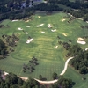 Aerial view of the practice park at Irons at World Woods Golf Club