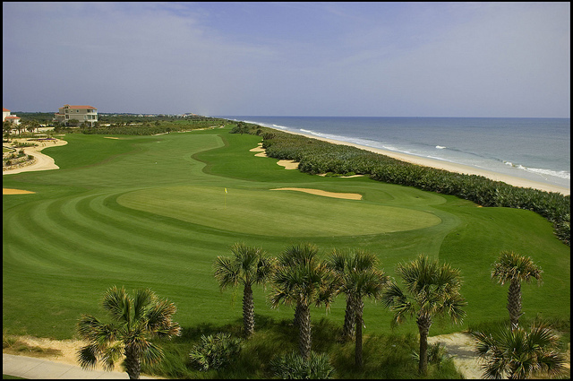 hammock beach resort   ocean gc   hole 18 picture perfect  the ocean and conservatory courses at hammock      rh   floridagolf