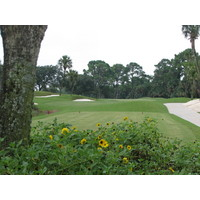 The 13th at the Lagoon course at the Ponte Vedra Inn and Club is a 171-yard par 3.