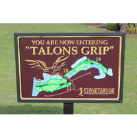 The Talon's Grip is the nickname for holes 11-14 at Stoneybrook Golf Course in Estero, Florida.