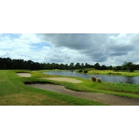 The first hole at Indian River Preserve Golf Club is one of the toughest on the course at 435 yards.