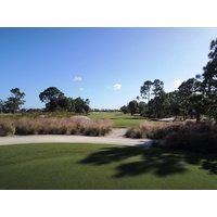 Floridian Yacht & Golf Club begins with a 441-yard par 4.