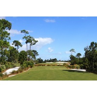 The 529-yard par-5 13th at Floridian Yacht & Golf Club presents a good scoring opportunity.