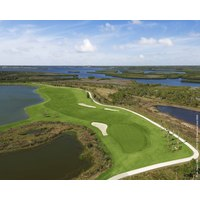 The River Strand Golf and Country Club offers three distinct nines, like the Sanctuary pictured here.