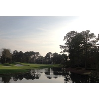 The shortest par 3 at Sandestin's Burnt Pine Golf Club plays just 149 yards from the back tees.