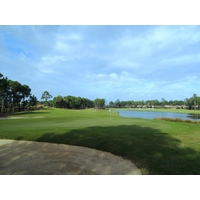 The 15th hole at Raven Golf Club at Sandestin Golf and Beach Resort is a short par 4.