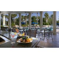 Enjoy a quick poolside meal or cocktail at the Omni Orlando Resort at ChampionsGate.