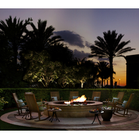 During the cooler months, families can roast marshmallows or s'mores an enjoy the sunset at ChampionsGate's fire pit.